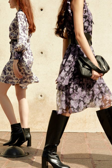 CHRISTY LYNN Sanaa Dress - Violette Noir