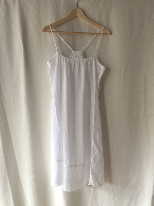 Loup Charmant Slip with inset lace trim