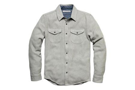 Outerknown Blanket Shirt - Heather Grey