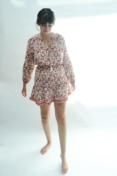 Natalie Martin Maggie Dress - Red Shadows