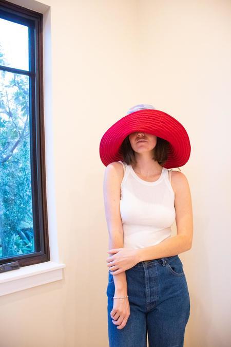 Romualda Tierra Grande Hat - Ruby