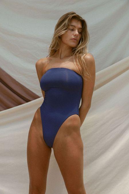 Toast Swim Tube One Piece - Blue Ribbon