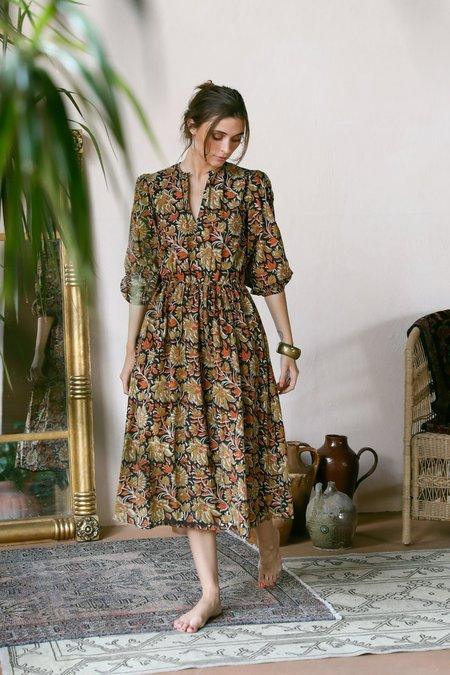 Mille Celeste Dress - Sunset Floral
