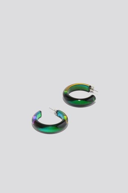 Rachel Comey Jewelry Hanes Hoops - Rainbow