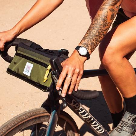 Unisex Topo Designs Bike Bag - Black
