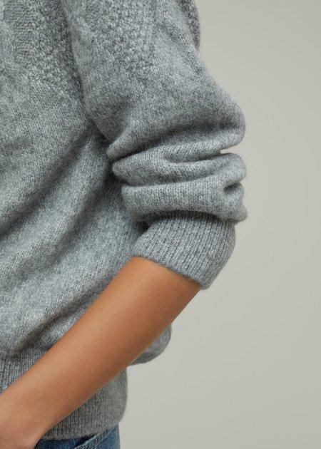 Closed Mix Knit Sweater - Gray