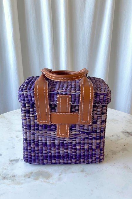 Rachel Comey Mini Picnic Tote - Purple