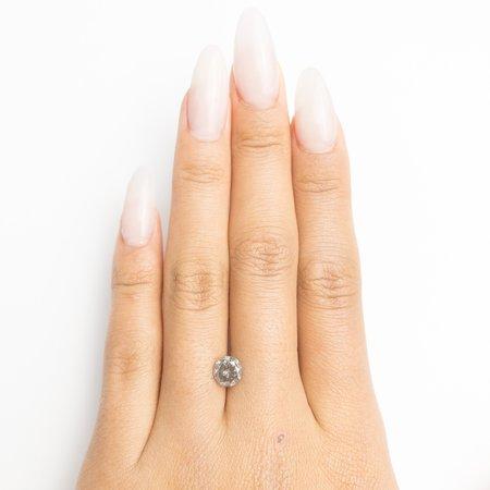 Misfit Diamonds Round Brilliant - Dark Grey Salt
