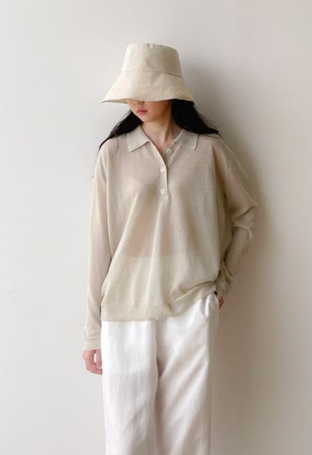 NKC Sweater Polo Long Sleeve
