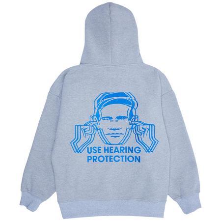 PLEASURES Protection Hoody sweater - Heather Grey