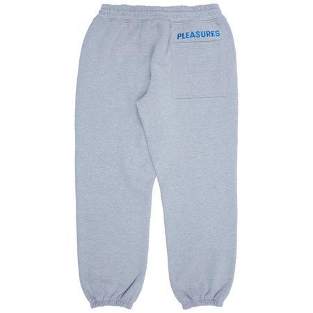 PLEASURES Protection Sweatpants - Heather Grey