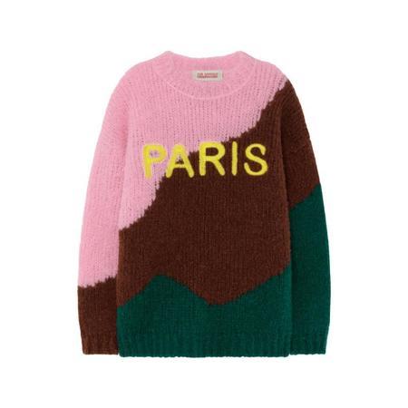 kids the animals observatory city bull sweater - green paris
