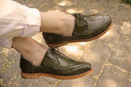 The CANO Shoe BENITO oxford - Olive