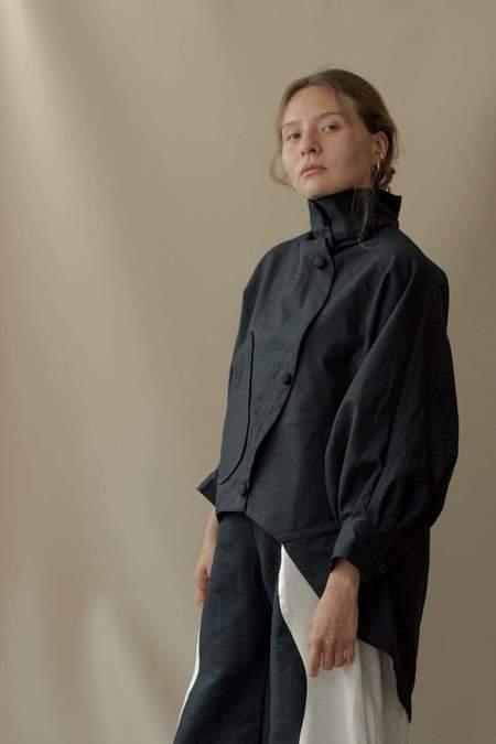 Nin Studio Flight Jacket - Black