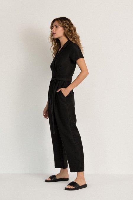 Neranese Stone Jumpsuit - Black