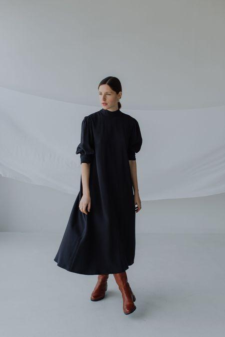 Mina Wild Dress - Ink
