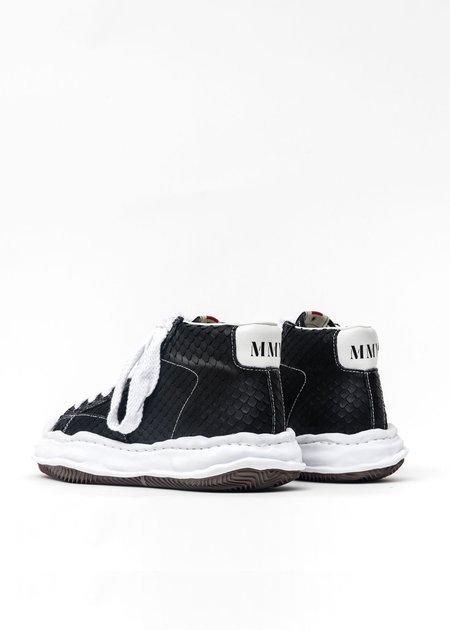 Mihara Yasuhiro Original Shell Toe Sole Leather Hightop Sneaker - Black