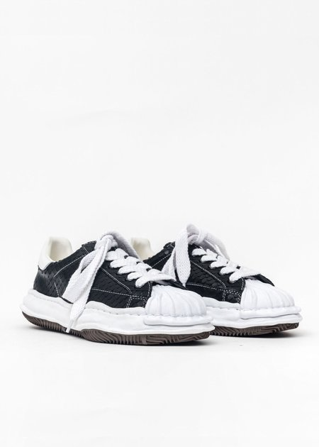 Mihara Yasuhiro Original Shell Toe Sole Leather Lowtop Sneaker - Black