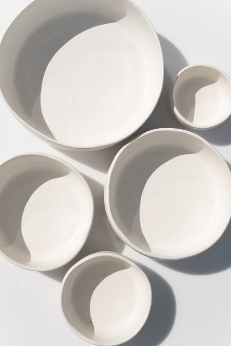 Judy Jackson 5-Bowl Set - White