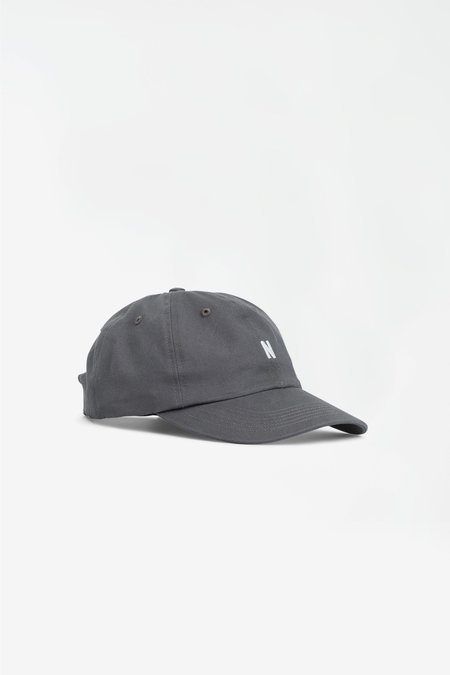 Norse Projects Twill sports cap - magnet green