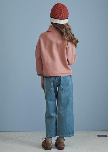 kids Caramel Drube Sweatshirt - Rosewood