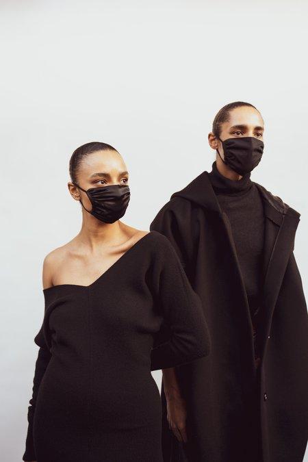 KES Cotton Peace Mask (5 in 1 Pack) Bundle - Black