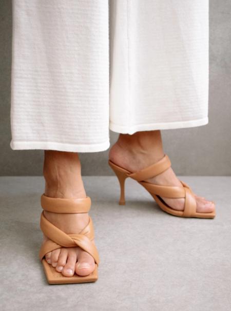 Alohas Amaretto Heels - Camel