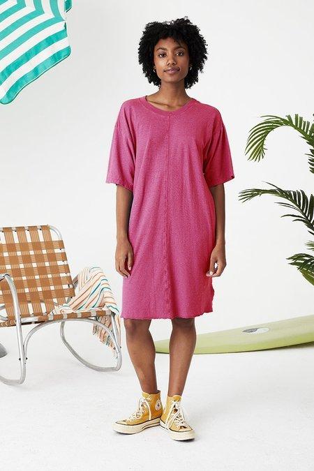 Back Beat Co. Hemp Slater Dress - Virtual Pink