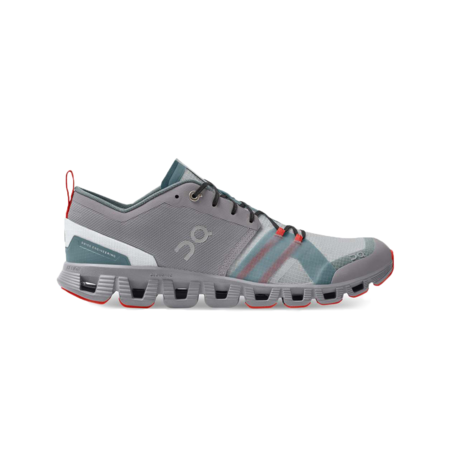 On Shoes Cloud X Shift Alloy/Red Men 38.99127