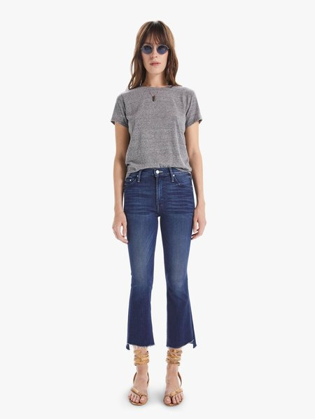 Mother Denim The Insider Crop Step Fray denim - Tongue In Chic
