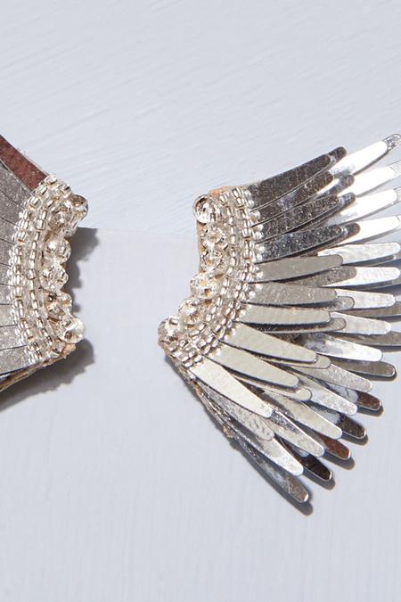 Mignonne Gavigan Mini Madeline Earrings - Silver
