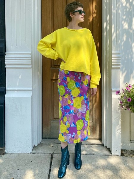 Rachel Comey Mingle Sweatshirt - Citron
