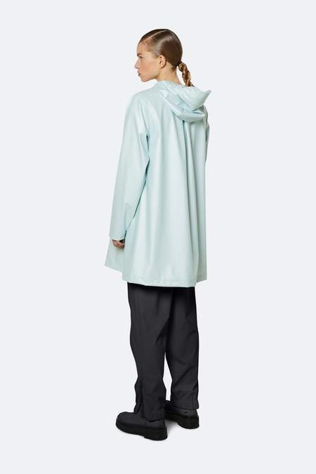 Unisex Rains A-Line Jacket - Ice