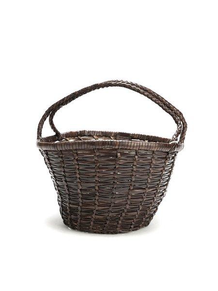 Dragon JANE BIRKIN basket bag - DARK BROWN