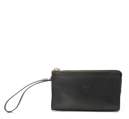 Il Bisonte C0906 Black Wallet