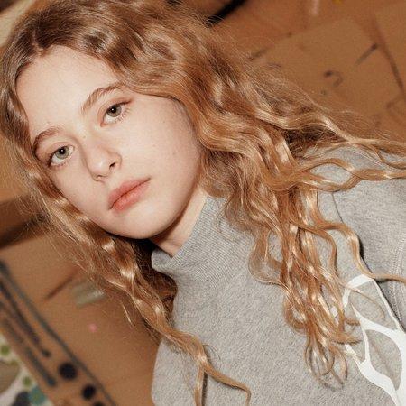 kids unisex Main Story Funnel Sweatshirt - Grey Marl