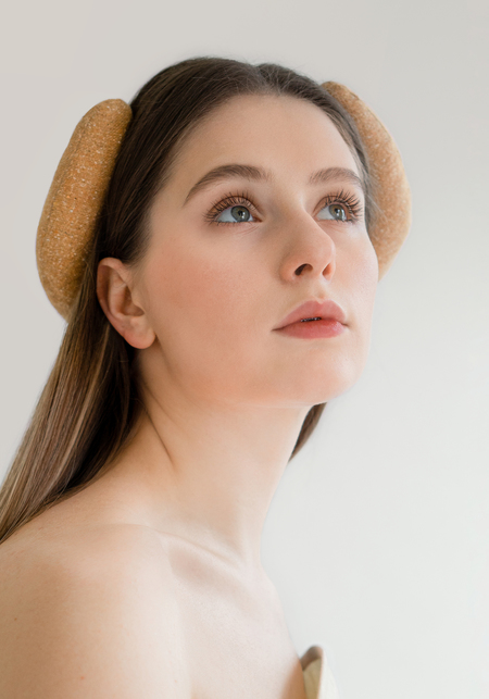 OK KINO Headband - Siena Brown