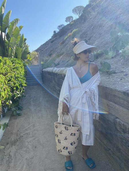 Else Cabo Cover Robe/Cover Up - Oat