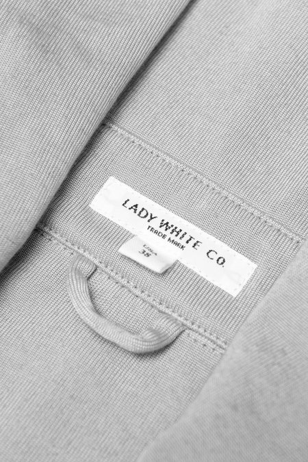 Lady White Co. Hooded Zip Jacket - Grey Pearl