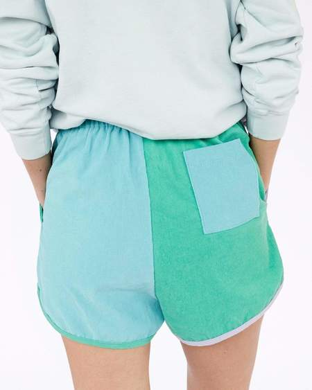 Clare V. Pinwhale Corduroy Shorts