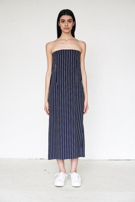 Assembly New York Poly Stripe Tube Dress