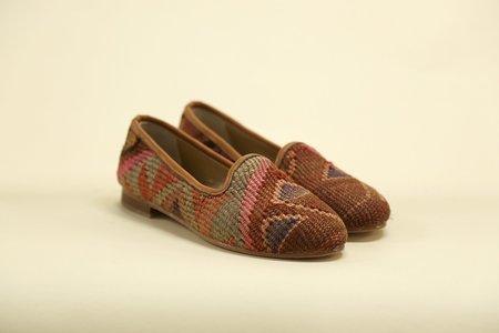 Ocelot Market Women's Turkish Kilim Loafer - multi