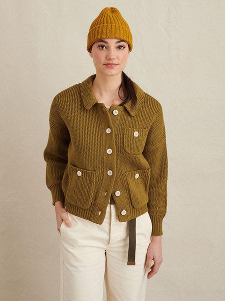 Alex Mill Parker Sweater Jacket - Golden Olive