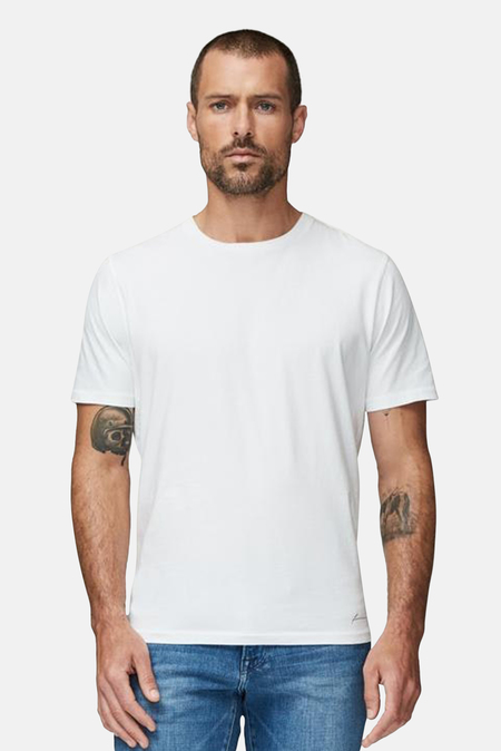 Men's FRAME Perfect Classic T-Shirt - Blanc