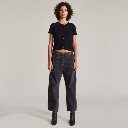 Rachel Comey Elkin Pant - Washed Black