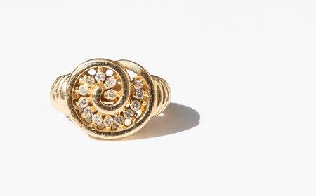 Kindred Black Albertha Ring - 14k gold