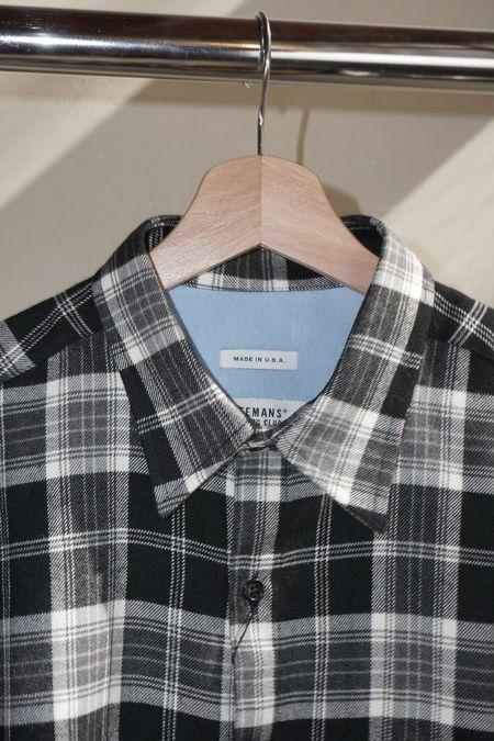 Pre-Loved Freemans Sporting Club CS-1 Shirt - Black Plaid