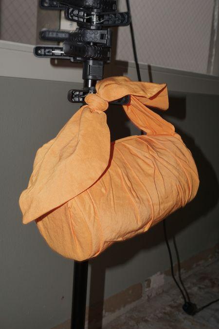Pre-Loved Rejina Pyo Nane Bag - Orange