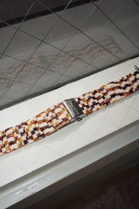 Pre-Loved Machete Apple Watch Band - Tortoise Checker
