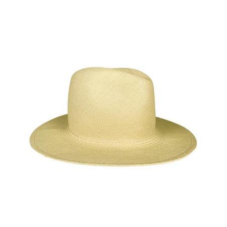 Hat Attack Panama Continental Hat - Natural
